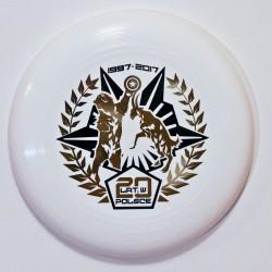 ULTRA STAR 175g - 20 LAT FRISBEE CZARNO-ZŁOTY