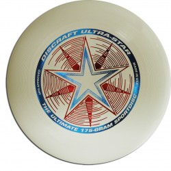 DISCRAFT ULTRASTAR 175g - NIGHT GLOW - ŚWIECI W NOCY - ULTIMATE FRISBEE