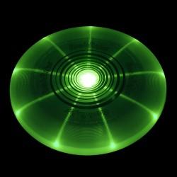 FLASHFLIGHT LED DYSK ŚWIECĄCY W CIEMNOŚCI 185G